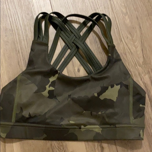 lululemon athletica Tops - Lululemon camo sports bra